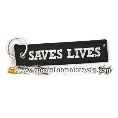 Portachiavi Moto Saves Lives Loud Pipes