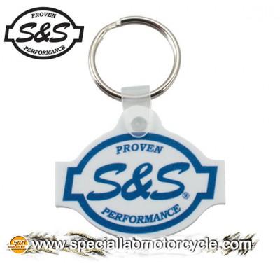 Key Chains S&S Logo Die Cut Soft