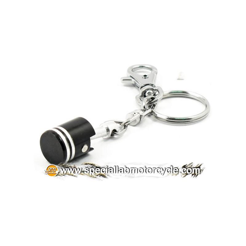 Key Chains Piston Black