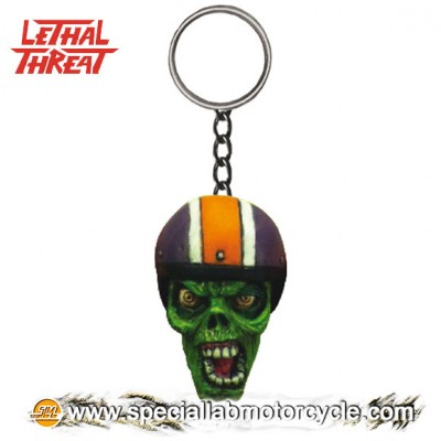 Lethal Threat 3D Key Chains Biker Zombie