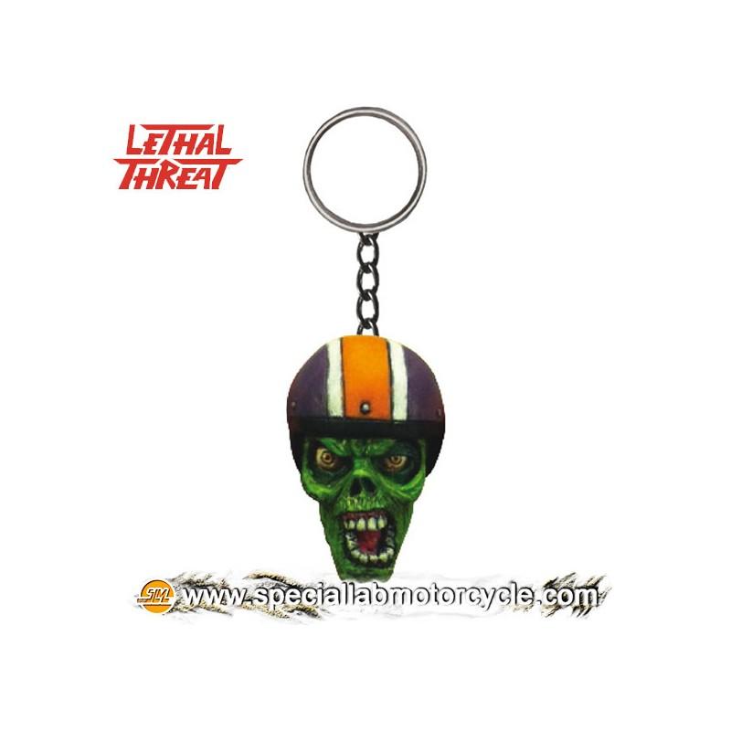 Lethal Threat 3D Key Chains Biker Zombie