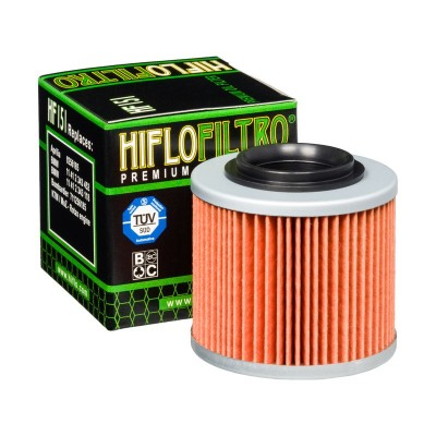 Filtro olio HIFLO FILTRO Aprilia 6.5 Moto / Stark 1995 – 2001