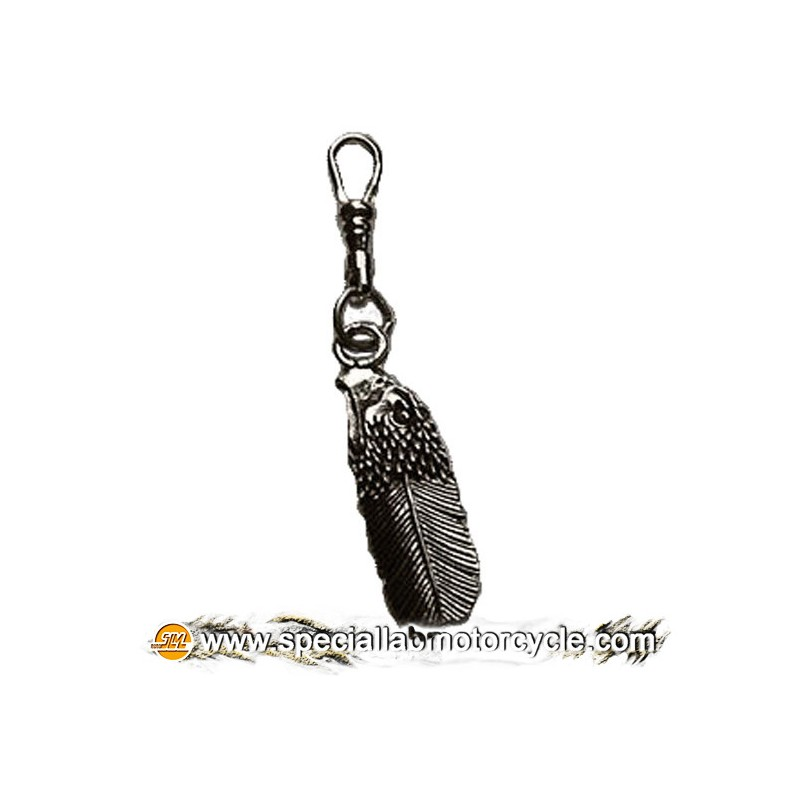 Zipper Pulls Eagle Head Piuma