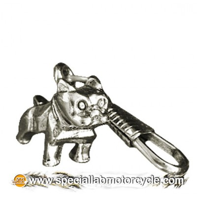 Zipper Pulls Bulldog