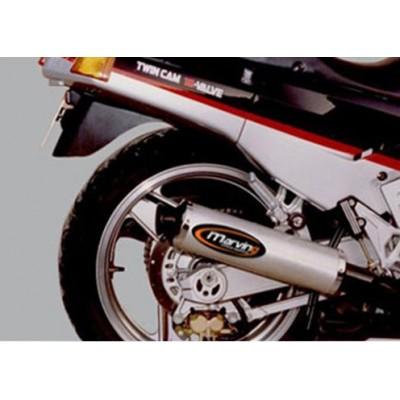 Impianto di Scarico Completo 4 in 1 Marving Kawasaki ZX10 1000 1988