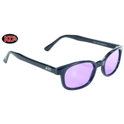 Occhiali XKD'S da sole original Black frame Light Purple lens