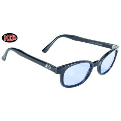Occhiali XKD'S da sole original Black frame Light Blue lens