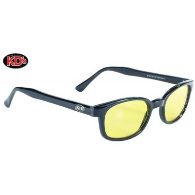 Occhiali XKD'S da sole original Black frame Yellow lens