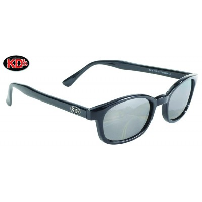 Occhiali XKD'S da sole original Black frame Silver Mirror lens
