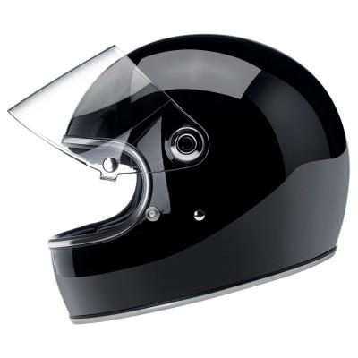 Casco Biltwell Integrale Gringo S Gloss Black ECE
