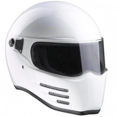 Casco Bandit Integrale Fighter Gloss White ECE