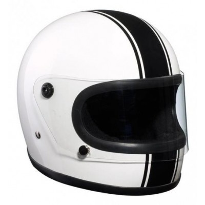 Casco Bandit Integrale Black & White