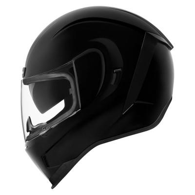 Casco Icon Airform Integrale Gloss Black ECE
