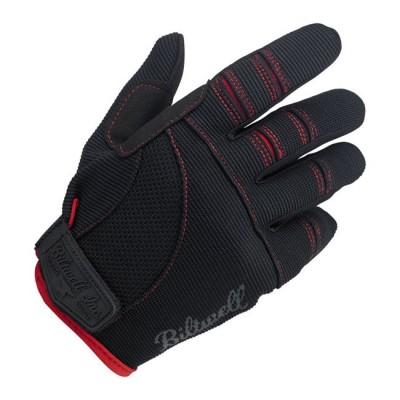 Guanti Biltwell Moto Black / Red