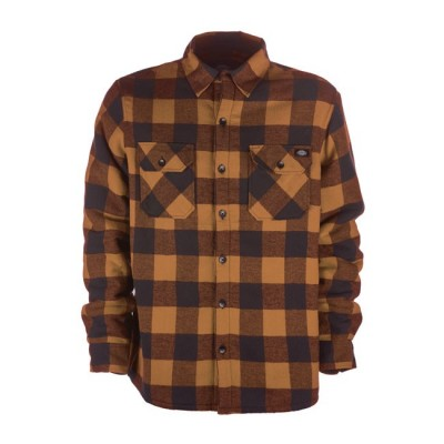 Camicia Dickies Lansdale Brown Duck