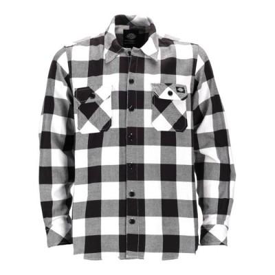 Camicia Dickies Sacramento Grey / Black /  White