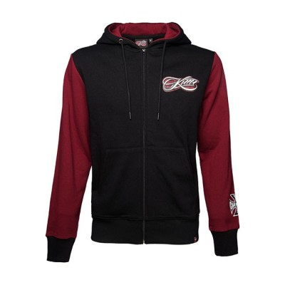 Felpa West Coast Choppers Kimi Script Red / Black