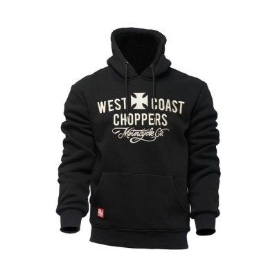 Felpa West Coast Choppers Motorcycle Black