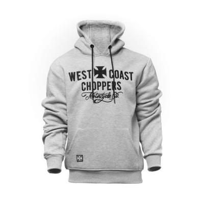 Felpa West Coast Choppers Motorcycle Grey