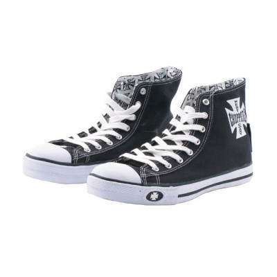 Scarpe WCC Sneaker Warrior Hi-Tops Black
