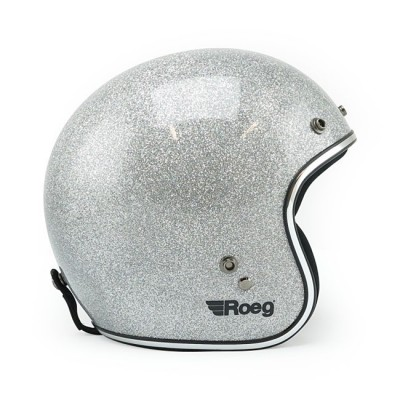 Casco Roeg Jett Disco Ball Silver