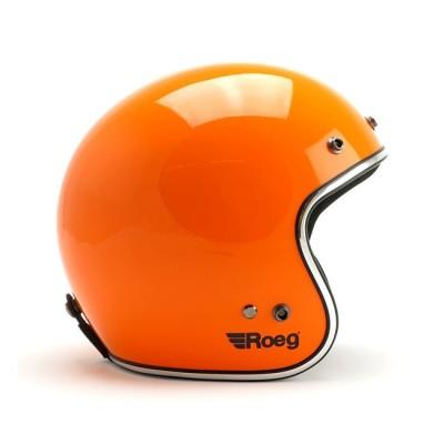 Casco Roeg Jett Orange Gloss
