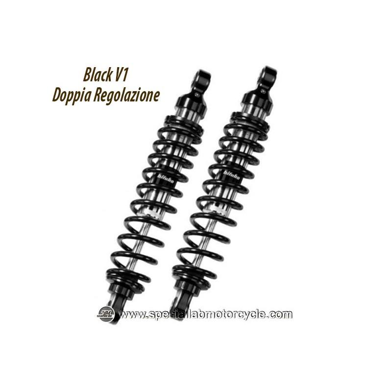 Ammortizzatori Bitubo Posteriori -33mm per YAMAHA XV 1100 VIRAGO 1988-1997 Doppia Regolazione