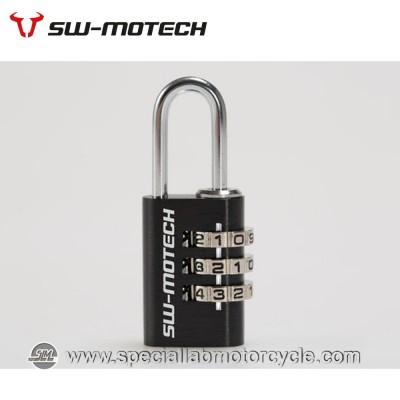 Lucchetto a Combinazione per cerniere Borse Moto SW-Motech