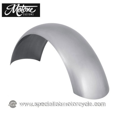 Motone Custom Parafango Posteriore in Acciaio Laminato Cafè Racer Style 170mm