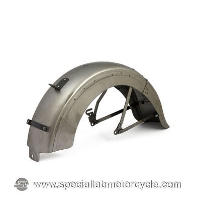 Parafango Posteriore in Acciaio grezzo 750 Sidevalve