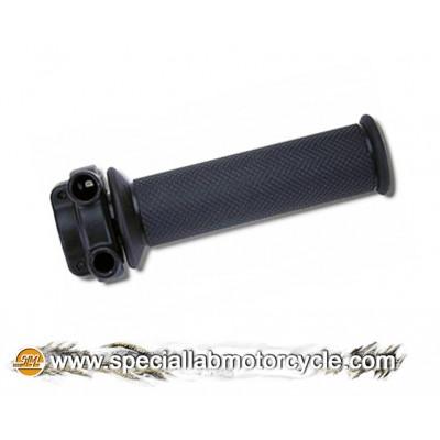 Comando Gas Bicavo Domino Tommaselli 22mm Street Black