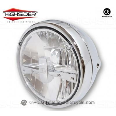"""Faro Anteriore LED Highsider Reno Type 3 Da 7"""""""