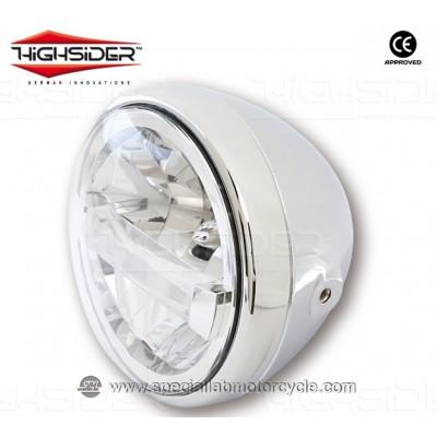 """Faro Anteriore LED Highsider Reno Type 4 Da 7"""""""