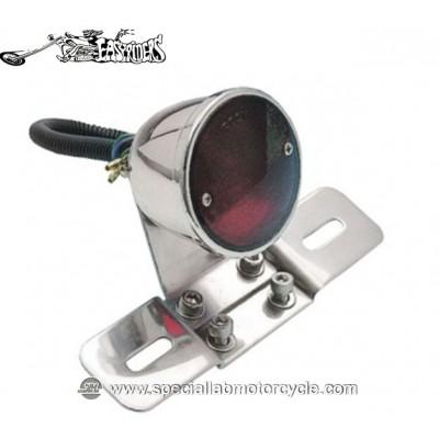 Fanalino Posteriore Easyriders Classic Style II con Portatarga Cromo