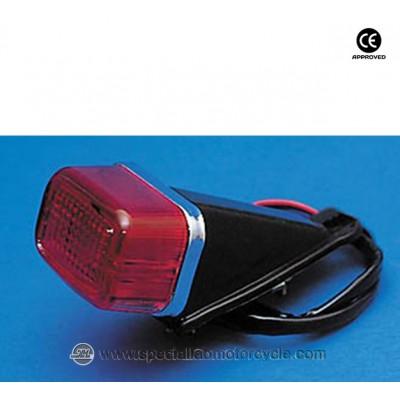 Fanalino Posteriore GS Mini Black Red Lens