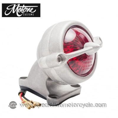 Motone Custom Kit Fanalino Posteriore Led Bel Air Alluminio Grezzo