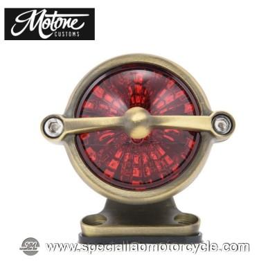 Motone Custom Kit Fanalino Posteriore Led Bel Air Ottone