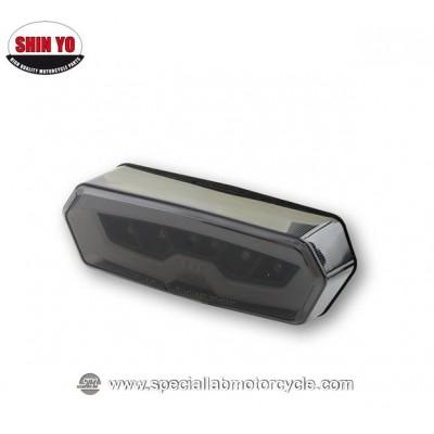 Shin Yo Fanalino Posteriore LED OEM Style per Honda MSX 125 - CTX 700 Del 2013 - CB/CBR 650 Del 2014