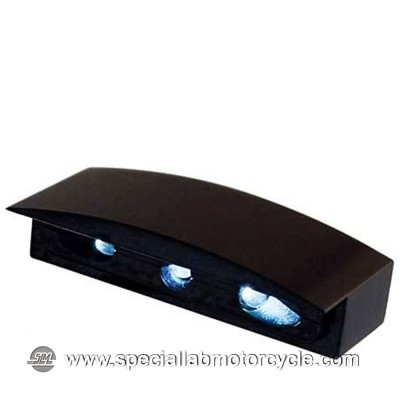 Luce Targa Micro Led con Alloggiamento in Alluminio Nero