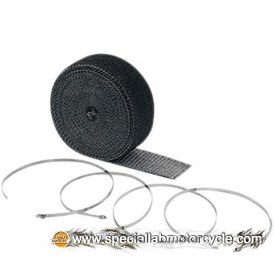 Benda Termica Wrap Kits Accel Nero 7,6 mt x 5 cm