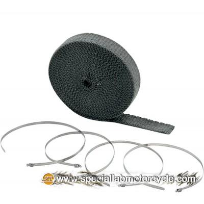 Benda Termica Wrap Kits Accel Nero 15 mt x 2,5cm