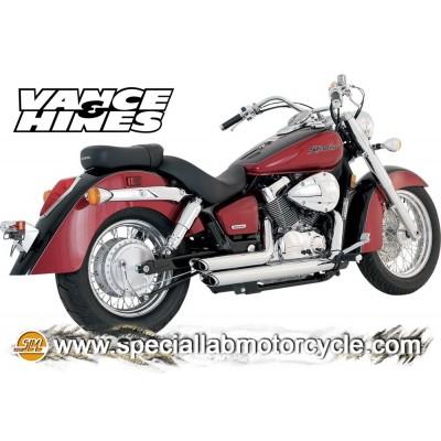 Impianto di scarico Vance&Hines Shortshots Staggered Honda VT 750 Shadow Aero 04-09 /Spirt 07-09/Phantom 10-11