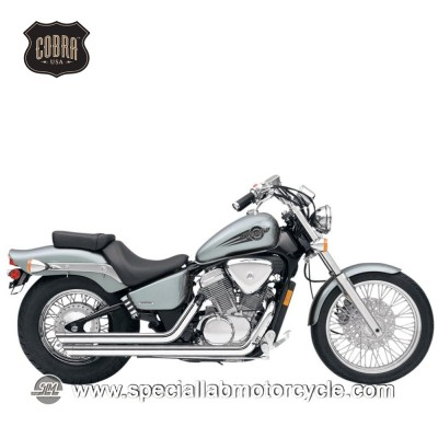 Impianto di scarico Cobra Slash Downs Street Rod 2 in 2 Honda VT 600C/VLX/CD Shadow