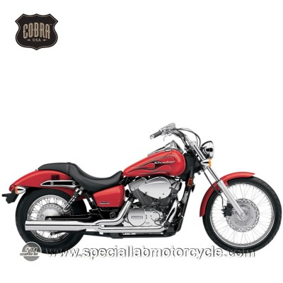 Impianto di scarico Cobra Slash Downs Street Rod 2 in 2 Honda VT 750CS Shadow/Aero