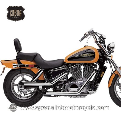 Sistema di scarico Cobra Drag Pipe 50,8mm Honda VT 1100C Shadow/Spirit