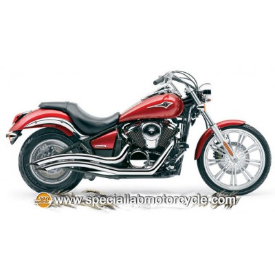 Impianto di scarico Cobra Speedster Swept Kawasaki VN900 / Custom 2006-2014 (esclusa Classic LT) VN900 Vulcan Classic 2006-2013