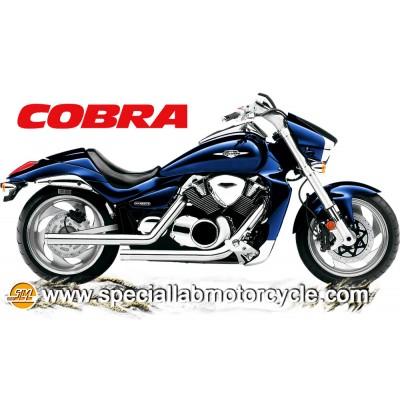 Impianto di scarico Cobra Dragsters 2 in 2 Suzuki VZR 1800 R/R2 Intruder 2006-2011