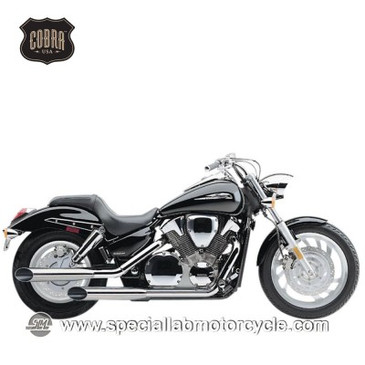 Finali di scarico Cobra Muffler Slash Cut Slip On Two Sided Suzuki VS 700/750/800/Boulevard