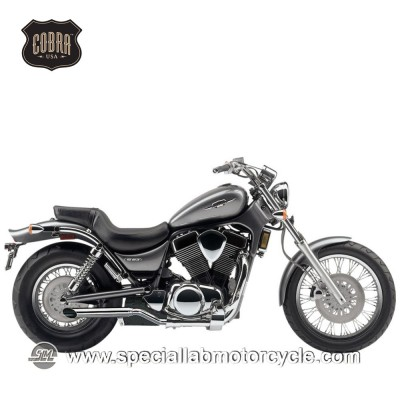 Finali di scarico Cobra Muffler Slash Cut Slip On Two Sided Suzuki VS 1400 Intruder/ S83 Boulevard