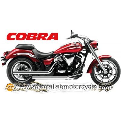 Impianto di scarico Cobra Dragsters 2 in 2 Yamaha XVS 950 V-Star / A Midnight Star 2009-2014
